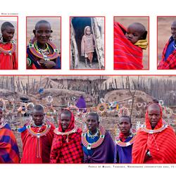 People of Masai, Tanzania