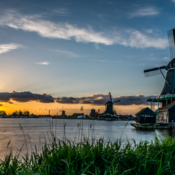 Sunset Zaanse Schans