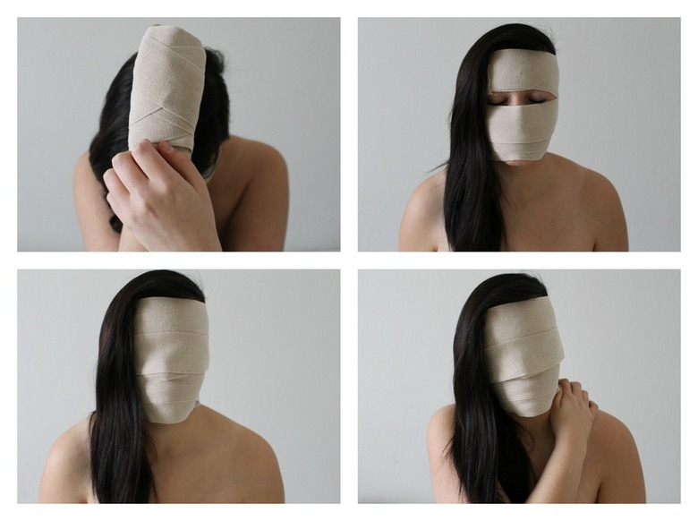 zelfportret - ''Le silence n'a jamais trahi personne''