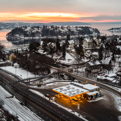 Oslo during winter