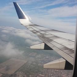Vliegtuig-view