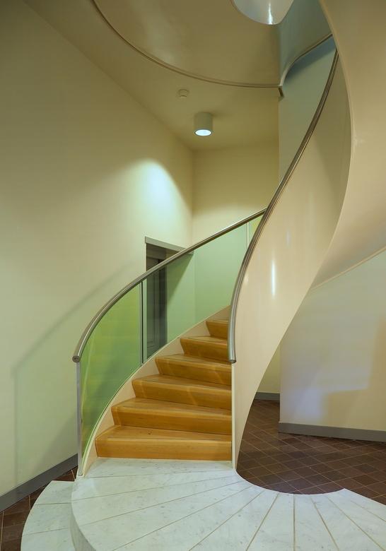 Paviljoen Welgelegen - Weer een mooie  trap ontdekt ...