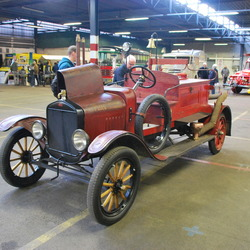 Antieke Brandweer Auto.