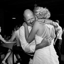 Bruid en vader