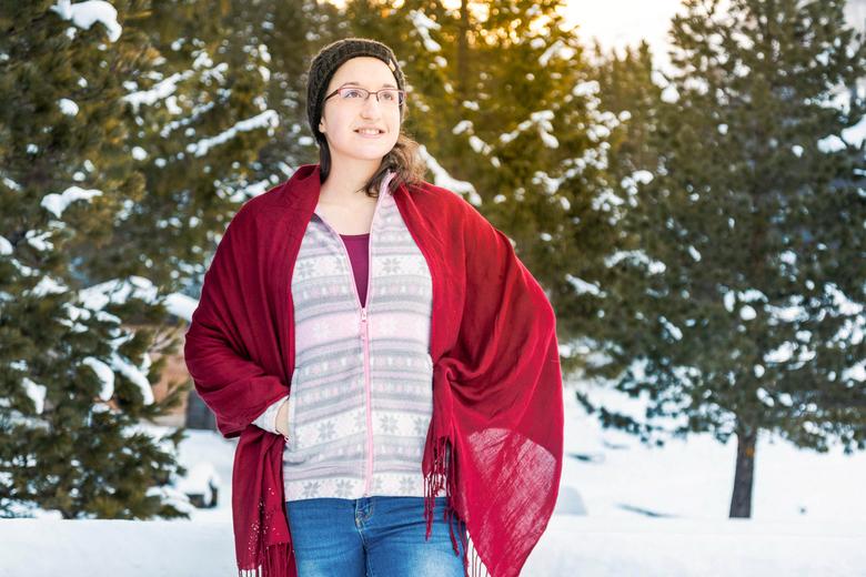 Swiss Winter Shoot - Fotoshoot of my girlfriend in beautiful Switzerland