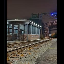 Treinspoor Duisburg DRI