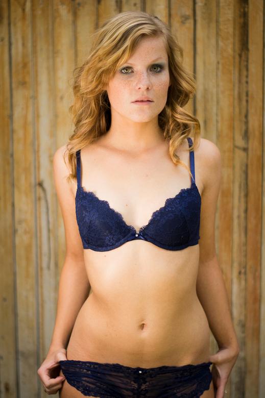 Eline - De dochter van vrienden wil gelukkig altijd wel model staan.