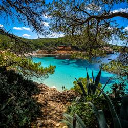 Uitzicht op Blauw Water