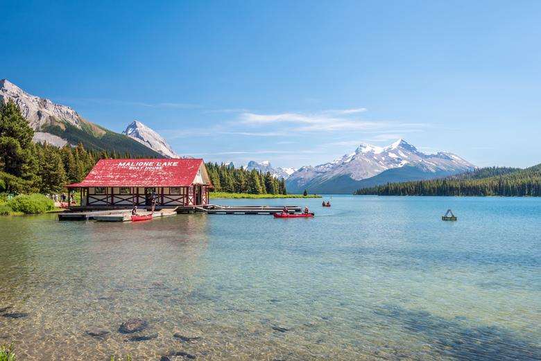 Maligne lake -