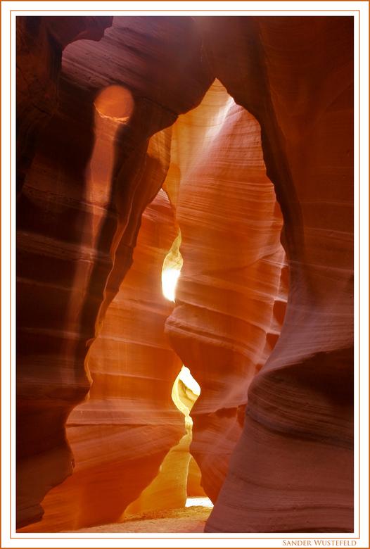Antilope canyon - Gemaakt in mijn rondreis door de US. In antilope canyon in Arizona..