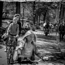 het fietsenrek