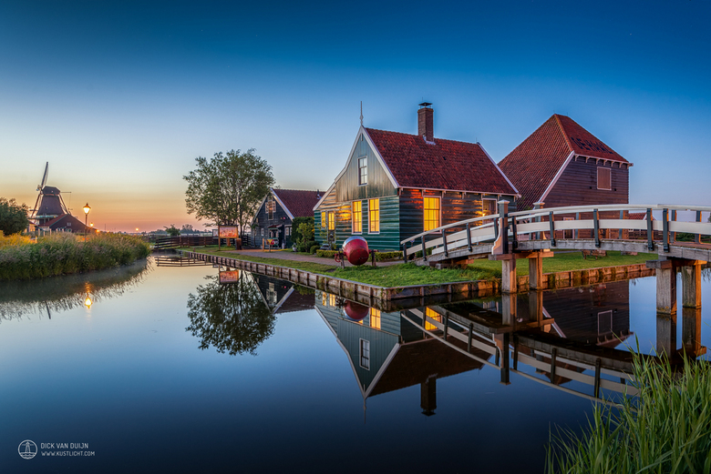 Zaanse Schans Twilight