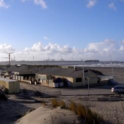 Zicht op de Maasvlakte