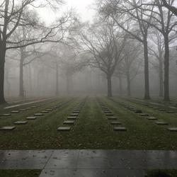 Enkel het subtiele geluid van mist