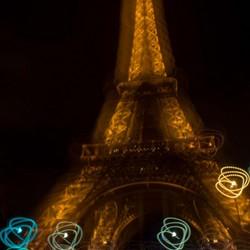 Eiffeltoren om beweging!
