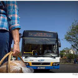 Wachten op de bus
