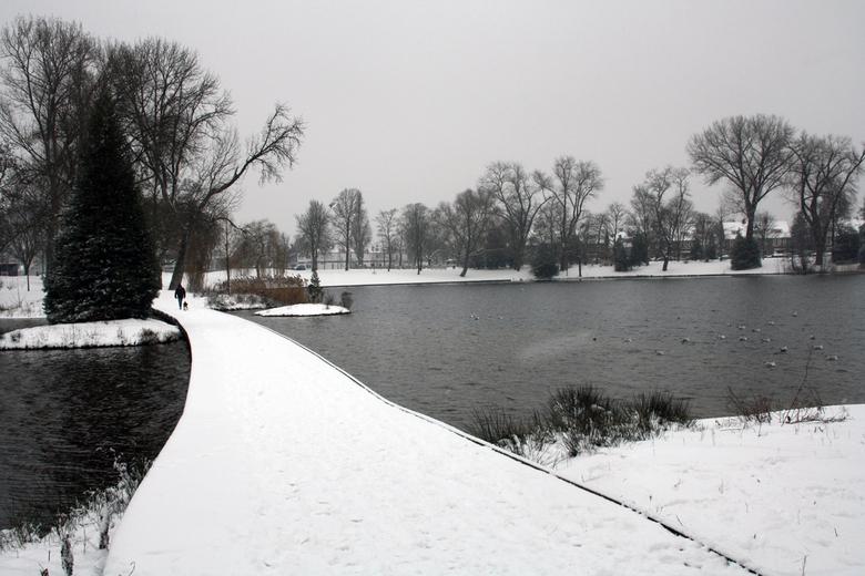 Wandeling - Prins Hendrik Park 's-Hertogenbosch, Januari 2013