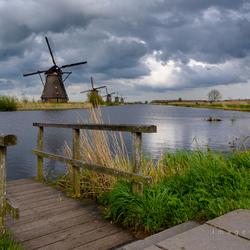 Cloudy Kinderdijk 2