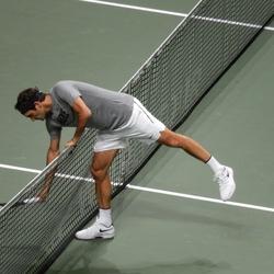 Roger Federer ABN Amro tennis toernooi 2018