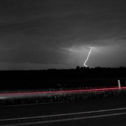 Onweer boven IJsselstein.