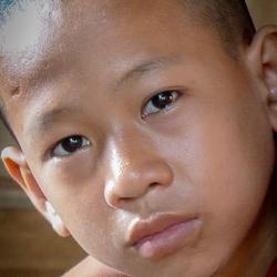 Jonge monnik Myanmar