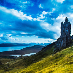 Up into the Skye