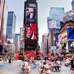 """Summertime @ Time Square"""