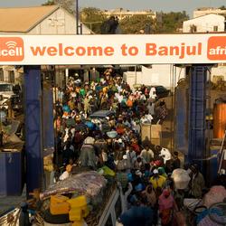 Ferry van Banjul naar Barra The Gambia