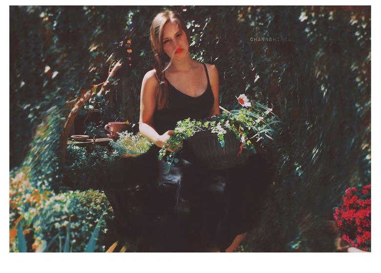 Flora - Zelfportret