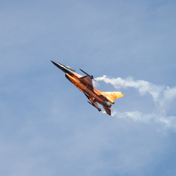 Luchtmachtdagen 2013 F-16 Demo
