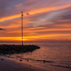 zonsopkomst op Vlieland