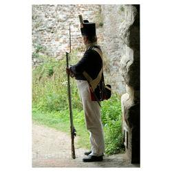 Fort Rammekes 1815 (1)Soldaat op wacht.