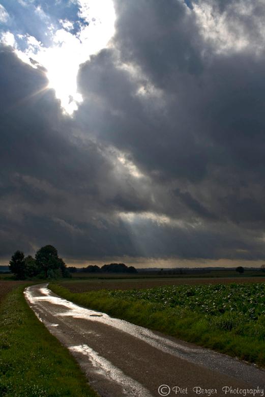 Na regen komt zonneschijn - Na een dag regen kwam het zonnetje eindelijk weer tevoorschijn.