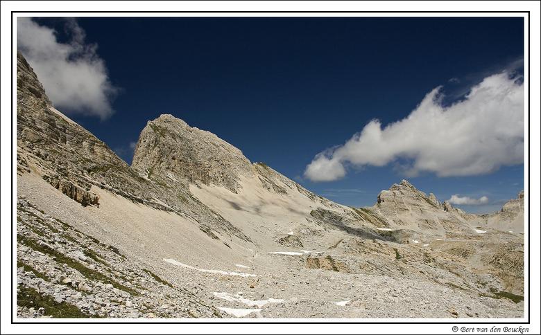 Dolomieten 2 - Vakantie in de Dolomieten. Een actieve vakantie in de bergen met de spiegelreflex in de rugzak. Prachtige landschappen, blauwe luchten