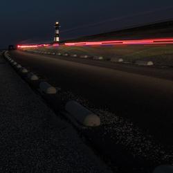 Vuurtoren lichtspoor