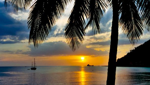 Sunset Langkawi - Het Maleisisch bounty eiland Langkawi. Een droomplek om nooit meer weg te gaan...