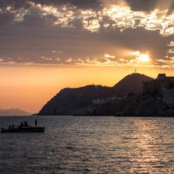 Dubrovnik - Zonsondergang