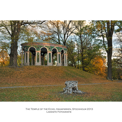The Temple of the Echo, Hagaparken, Stockholm 2013