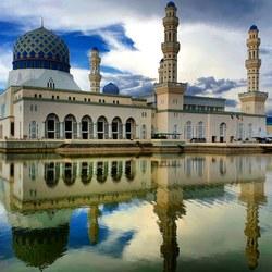 Masjid Bandaraya Kota Kinabalu Borneo