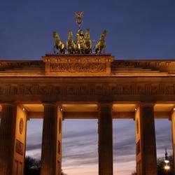 Brandenburger Tor 's avonds