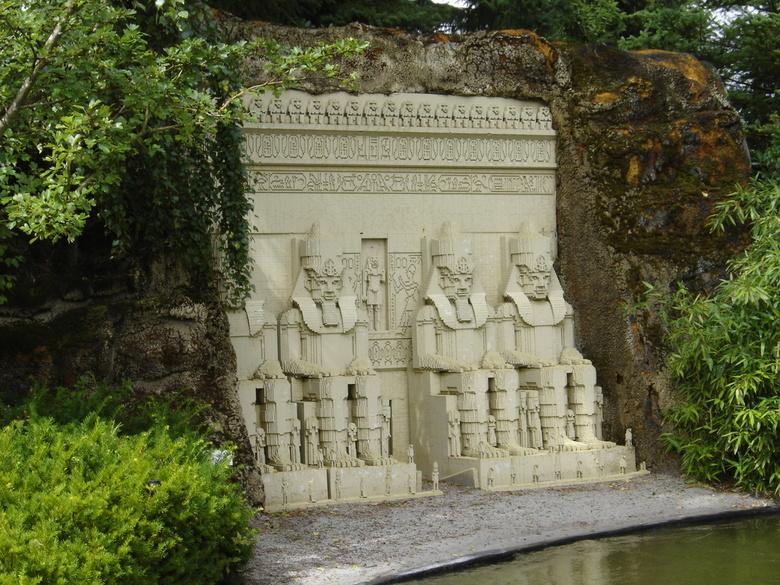Lang leve LEGO - een leuke foto in lego land van een Egyptische cultuur.