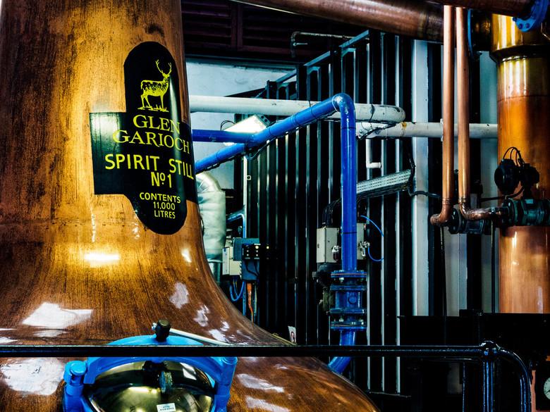 Glen Garioch Distillery - Een blik in de stokerij van de kleine Glen Garioch Distillery in het Noord-Oosten van Schotland