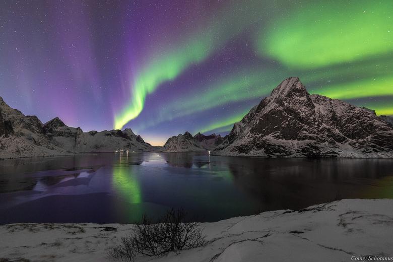 Noorderlicht - Het noorderlicht tijdens mijn vakantie op de Lofoten in Noorwegen. Een prachtig natuurverschijnsel. Ik heb er erg van genoten.