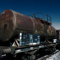 Old Train Tanker