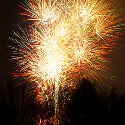 Vuurwerk in Houten 2