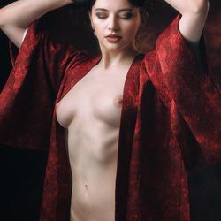 scarlet cloak