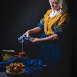 Modern melkmeisje