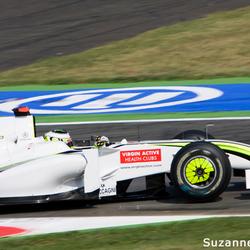 Jenson Button Monza'09