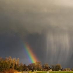 Hail the rainbow