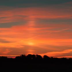 Oranjewoud- zonsopkomst